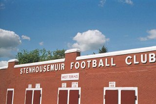 Ochilview Park, home of Stenhousemuir Football Club