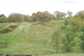 Rough Castle Fort on the Antonine Wall