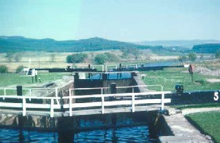 Locks on the Crinan Canal