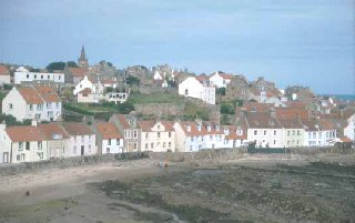 The west foreshore, Pittenweem