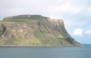 Basalt cliffs of Canna