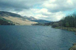Loch Iubhair in Glen Dochart