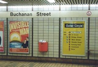 Buchanan Street Underground Station, Glasgow