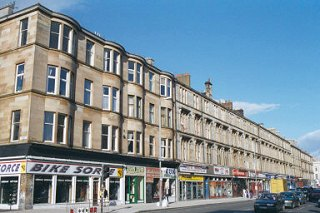 Tenements, Great Western Road, Glasgow
