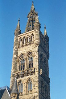 University Tower, University of Glasgow
