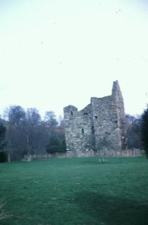 Comrie Castle near Fortingall