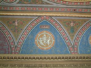 Detail of Ceiling decoration, Drawing Room, Newbattle Abbey