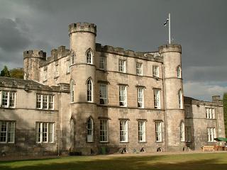 Garden front, Melville Castle