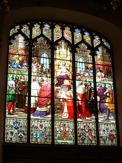 The Great South Window, Parliament Hall