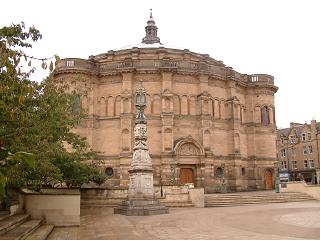 McEwan Hall and Bristo Square, Edinburgh