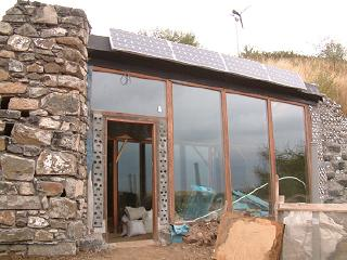 Earthship, Craigencalt Farm Ecology Centre