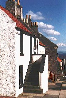 A forestair, North Overgate, Kinghorn
