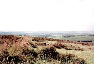 Lammermuir Hills in East Lothian, looking North-West