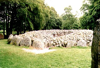 Prehistoric Burial Cairns at Balnvaran of Clava