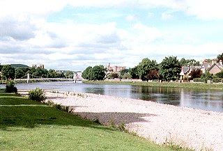 The River Ness & Inverness Castle