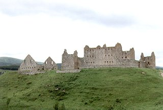 Ruthven Barracks, by Kingussie