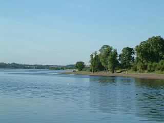 Strathclyde Loch in Strathclyde Country Park
