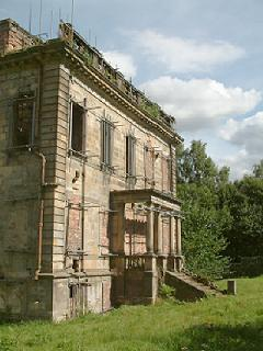 Mavisbank House from the rear