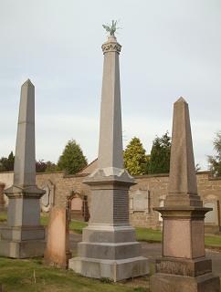 James Bowman Lindsay Monument, Western Cemetery, Dundee