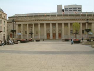 Caird Hall and City Square, Dundee