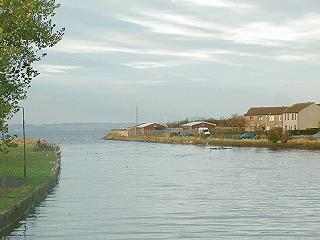 Mouth of the River Esk at Musselburgh