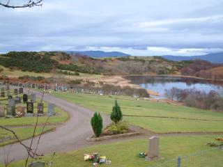 Pennyfuir Cemetery, by Oban