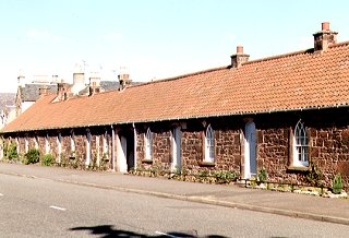 Terraced cottages, Aberlady