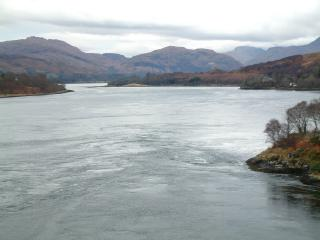Loch Etive and the Falls of Lora