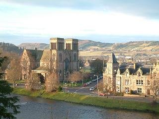 View over River Ness and Inverness
