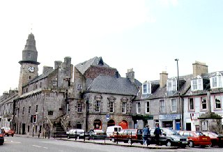 Old Town Hall & Cross, Musselburgh