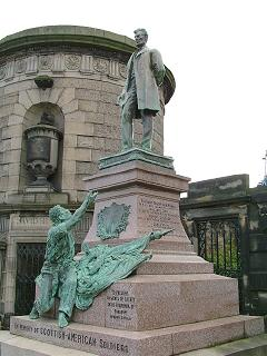 Emancipation Monument, Old Calton Burial Ground