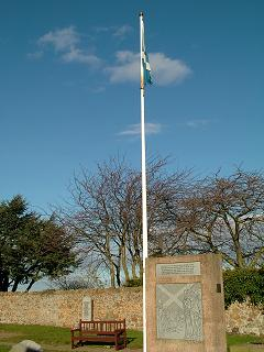 Scottish Flag Monument, Athelstaneford