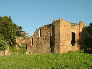 Ruins of Edmonstone House Stable Block