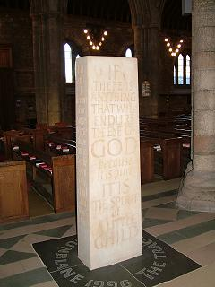 Dunblane Massacre Memorial, Dunblane Cathedral