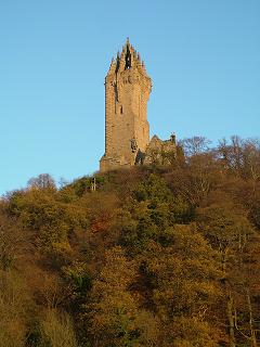 The Wallace Monument on Abbey Craig