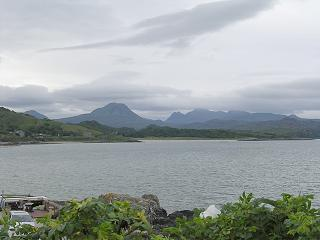View south across the Gair Loch