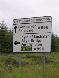 Strathcarron Junction, Wester Ross
