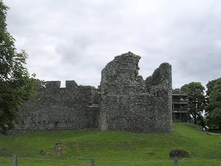 Old Inverlochy Castle at Fort William