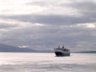 The 'Isle of Mull' ferry