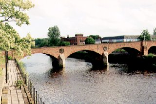 St. Michael's Bridge over the River Nith, Dumfries