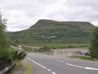 The Mound to northwest of Loch Feet