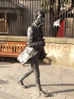Robert Fergusson Statue, Canongate