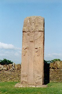 Pictish Cross-Slab, Aberlemno