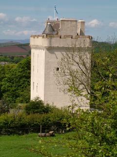 Law Castle, West Kilbride