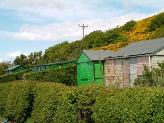 Holiday Huts on Law Hill, West Kilbride