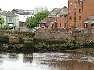 Remains of former Railway Viaduct, River Ayr
