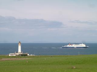 Corsewall Point, Lighthouse and the Irish Ferry
