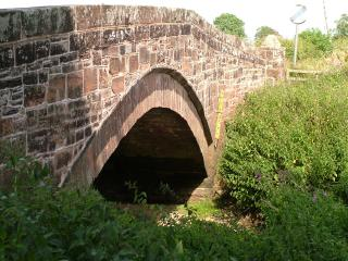 Bridge over Lochar Water at Bankend
