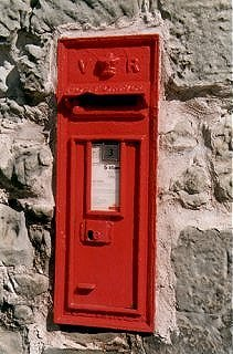Victorian Post Box, Tranent