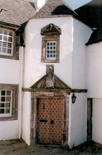 Doorway to Hamilton House, Prestonpans
